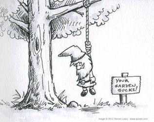 Suicidal Gnome