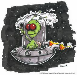 Alien-inked