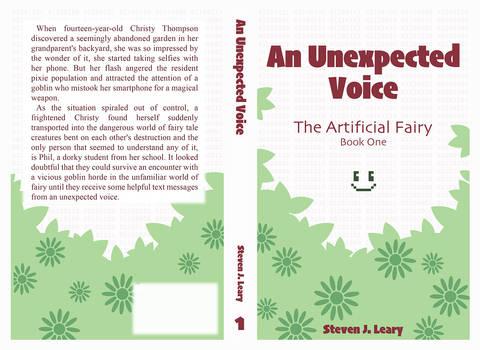 An Unexpected Voice Book Cover Design