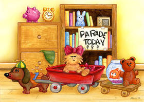 The Shortest Parade by spiraln
