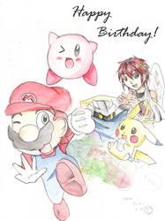 Happy Birthday Super smash bro