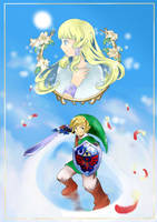 Zelda Skyward Sword by yellowhima
