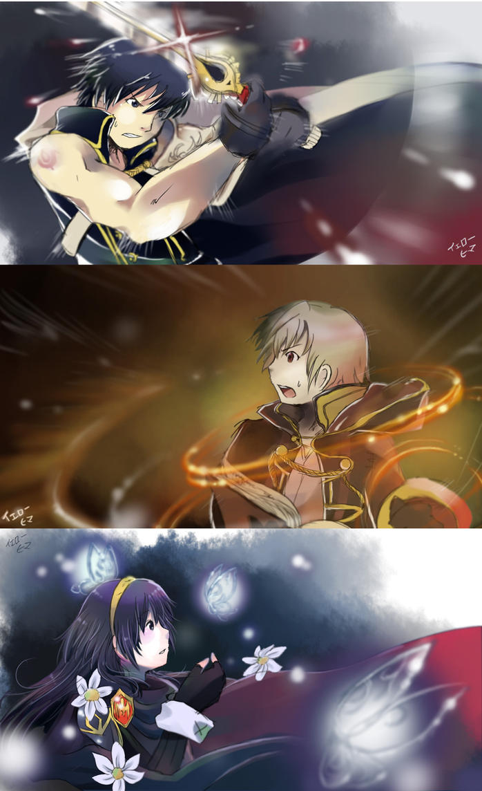 Drawing Set: Fire Emblem Awakening by yellowhima