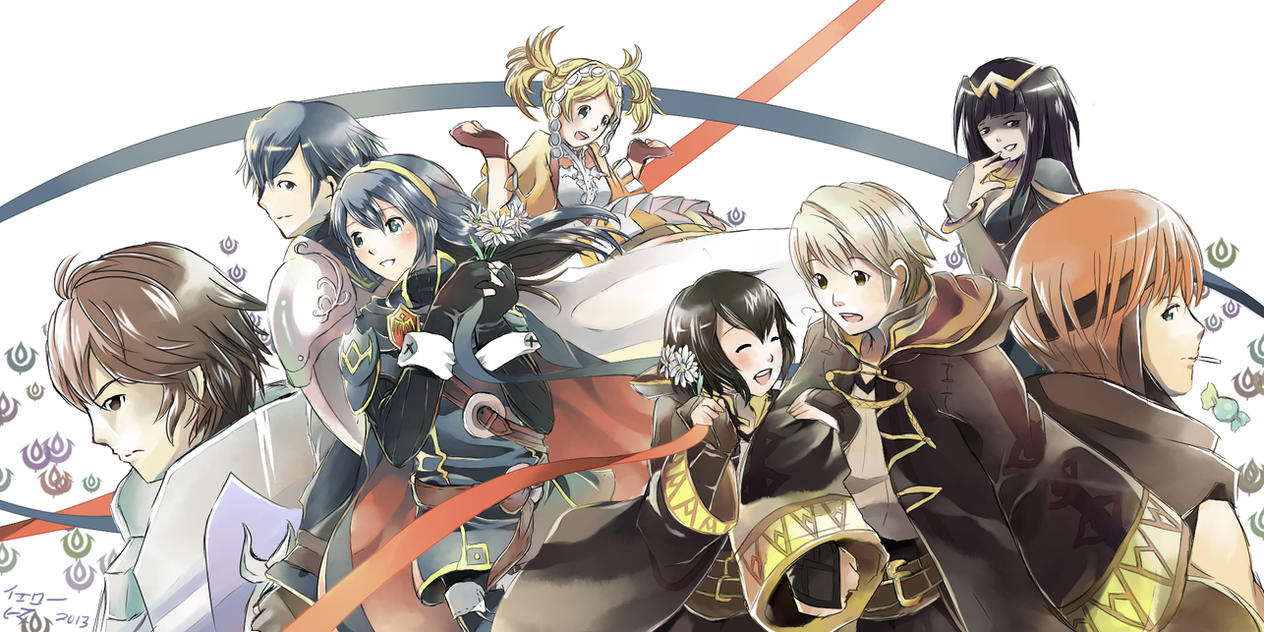 Knights of Ylisse by yellowhima