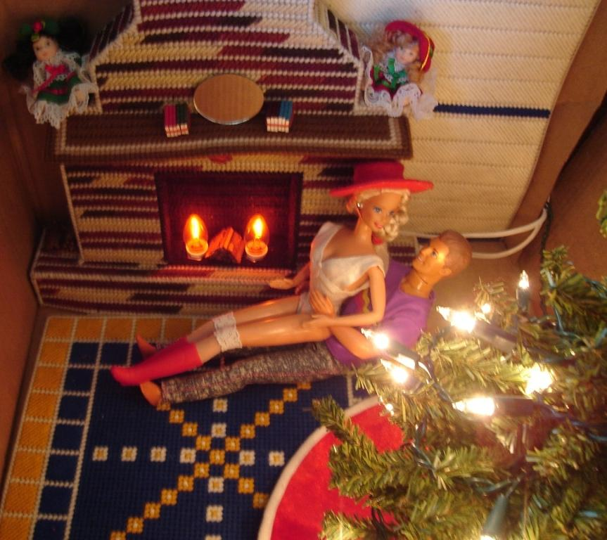 Barbie Fireplace And Rug By Ionicaq On DeviantART