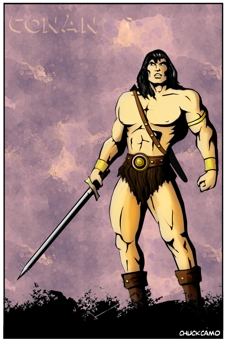 Conan the Barbarian by Chuckcamo on DeviantArt