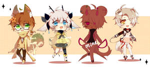 [Closed] Adoptable auction by 46san