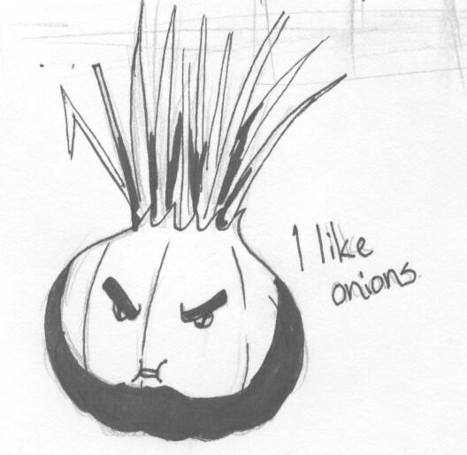 Grump Likes Onions by ViQQe