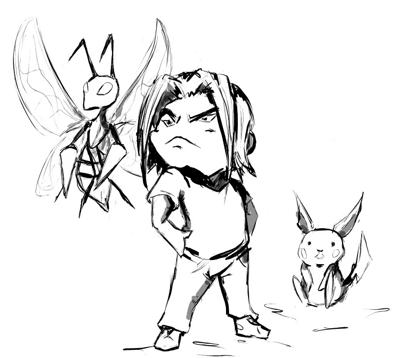 Pokemon master Arin by ViQQe