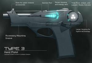 Hybrid Hand Pistol