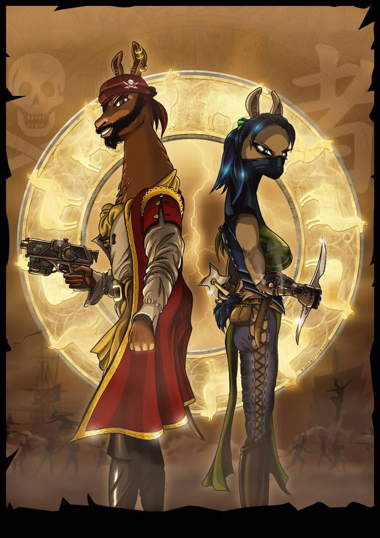 Battle for the Golden Llamas
