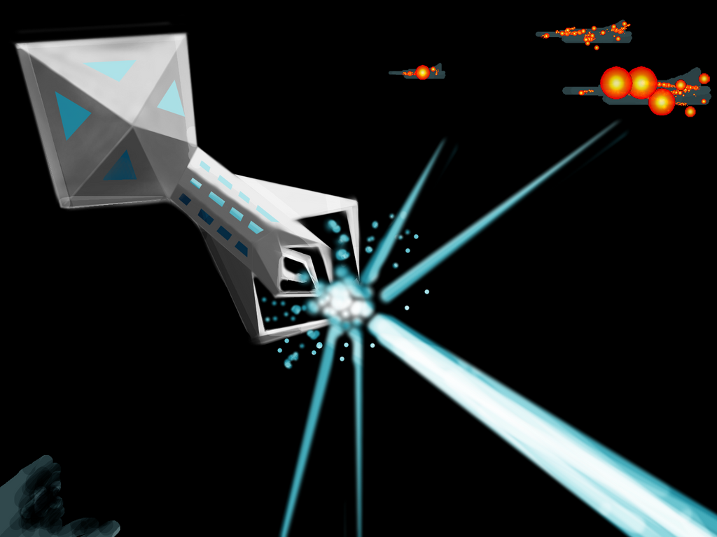 Daily Spitpaint Challenge: Prototype Laser Weapon by J4B