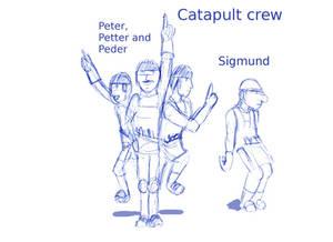 Catapult crew