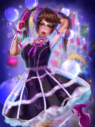 Dva Gothic Lolita ver 2:nsfw optional: by Emerald--Weapon