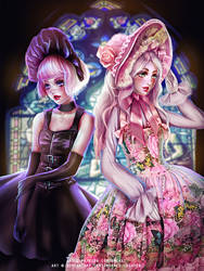 GLF Teaparty Illustration by Emerald--Weapon