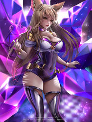 KDA Popstars Ahri :nsfw optional: by Emerald--Weapon