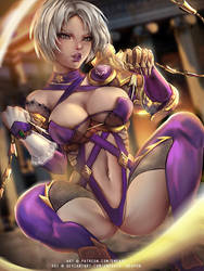 Ivy Soulcalibur VI :nsfw optional: by Emerald--Weapon