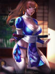 Kasumi Dead or Alive 6 by Emerald--Weapon