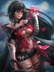 Velvet Crowe by Emerald--Weapon