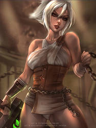 Riven by Emerald--Weapon