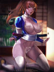 Kasumi Dead or Alive 6 nsfw promo by Emerald--Weapon