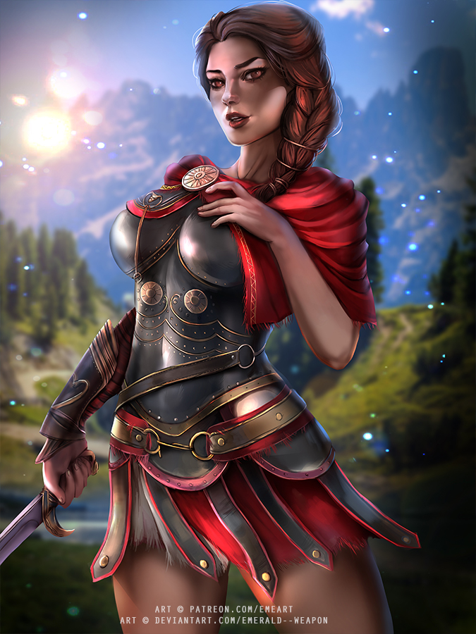Kassandra Assassin S Creed By Emerald Weapon On Deviantart