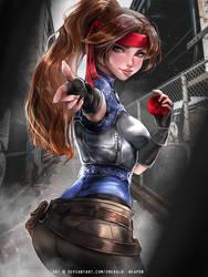 Jessie by Emerald--Weapon