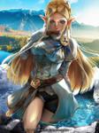 Zelda at Hot Springs