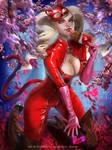 Ann Takamaki Valentine by Emerald--Weapon
