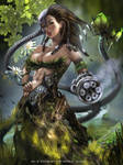 Zeme - Earth Element by Emerald--Weapon