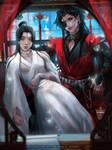 Xie Lian x Hua Cheng by Emerald--Weapon