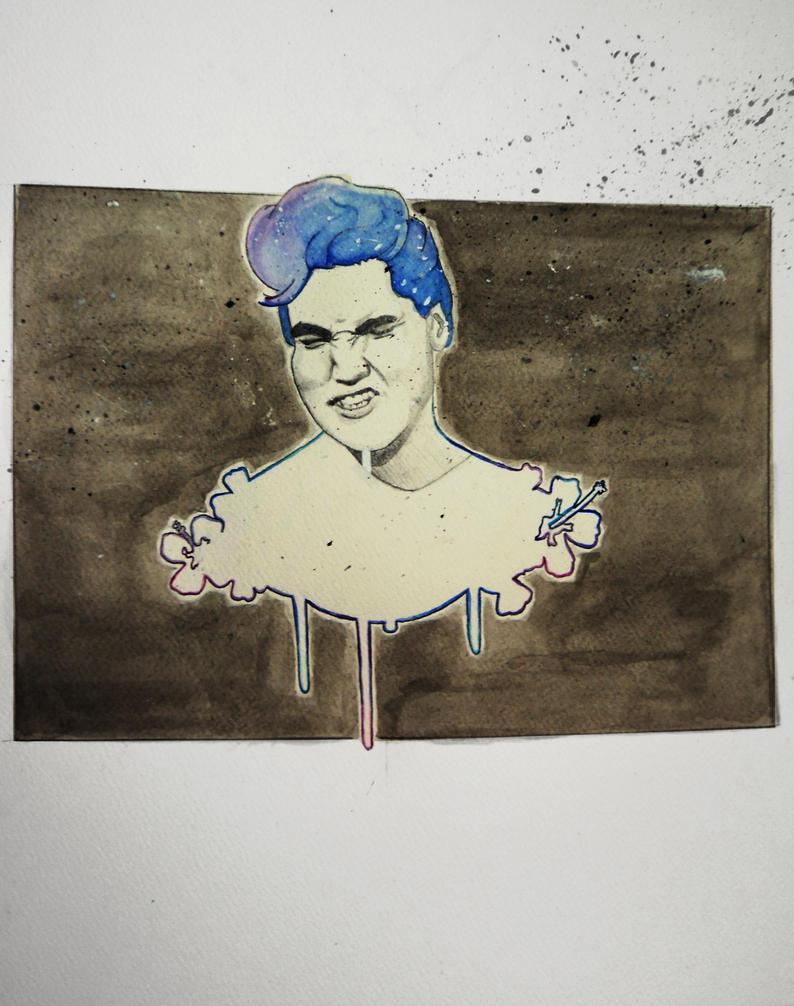 Elvis Wet, what by noemieSworld