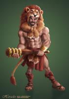 Heracles by jackfrozz