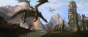 Go Dragon! by jackfrozz
