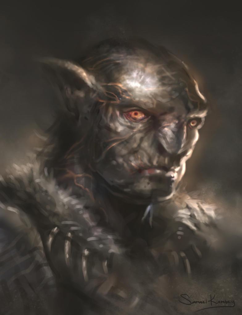 Orc Dude by jackfrozz