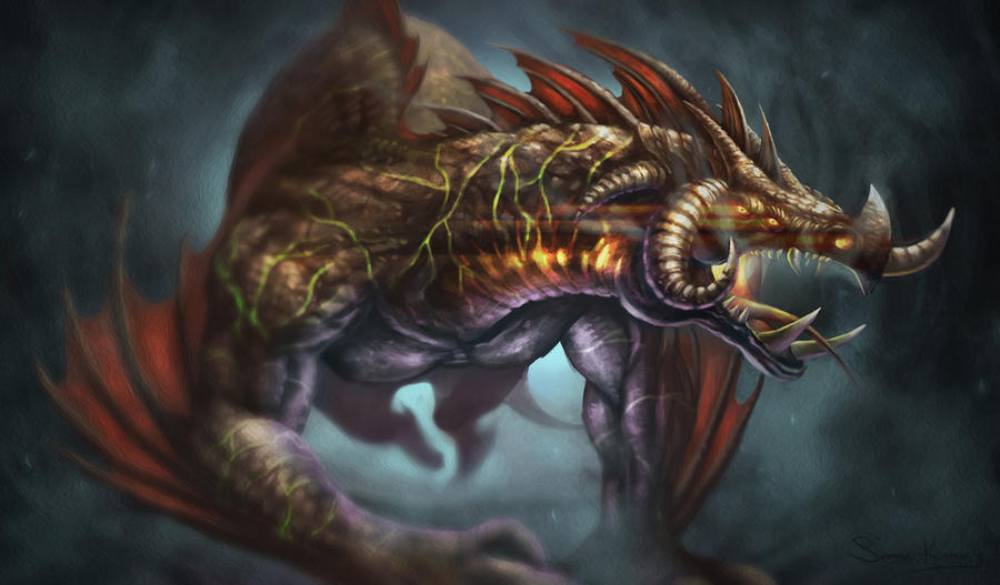 Pseudo Wyvern by jackfrozz
