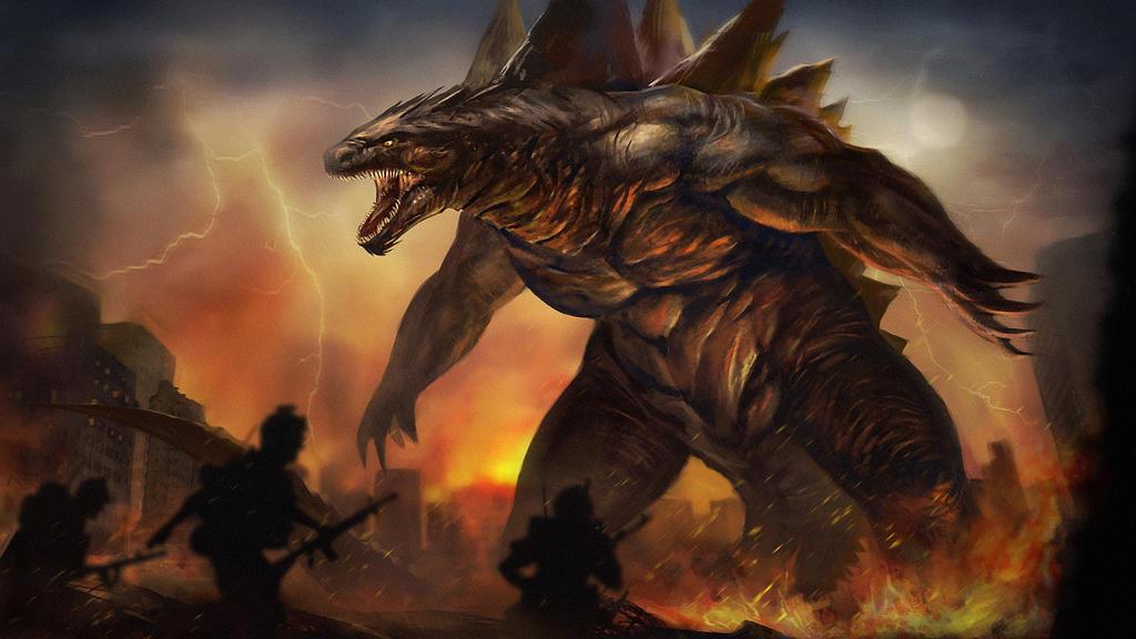 Godzilla by jackfrozz