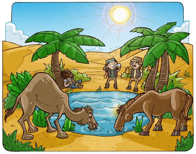 Dibujos De Animales Del Desierto