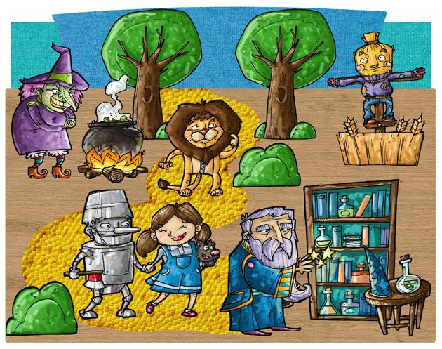 150 personajes de dibujos: