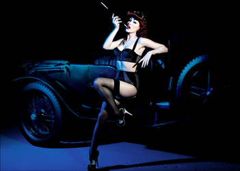 Pin up shoot by Ryo-Says-Meow