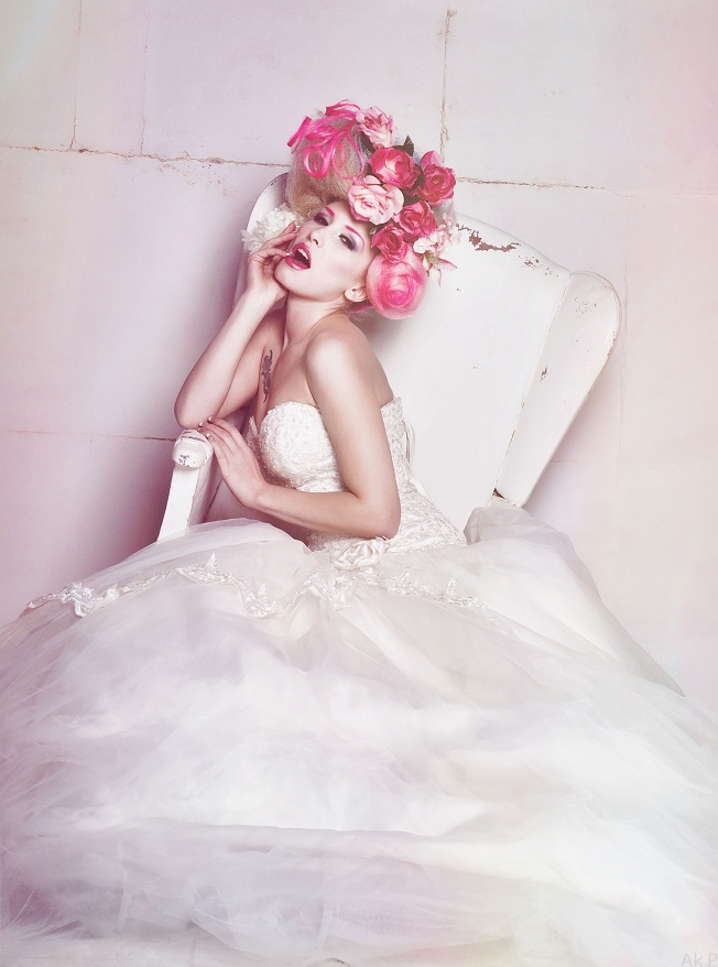 Avant garde bridal by Ryo-Says-Meow