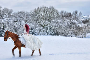 Snow Horse 1 by Ryo-Says-Meow