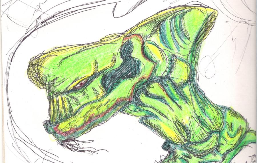 Tyrant Dragon by Mkemaster