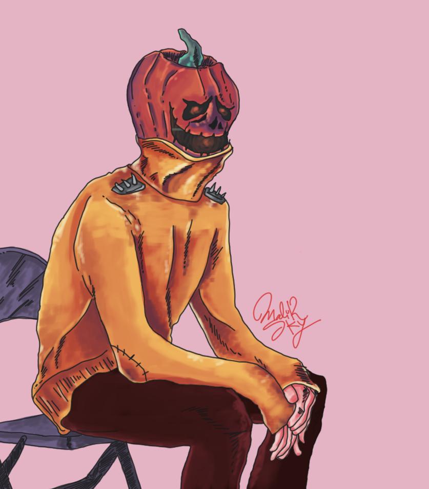 Pumpkin Boy by Mkemaster