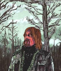 Norman Reedus Comic Artwork