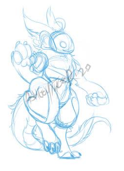 Pweef sketch.