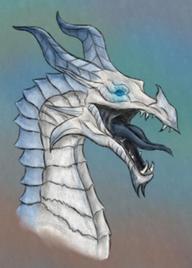 Frost dragon by dinozaurus on DeviantArt Daario Naharis Arakh