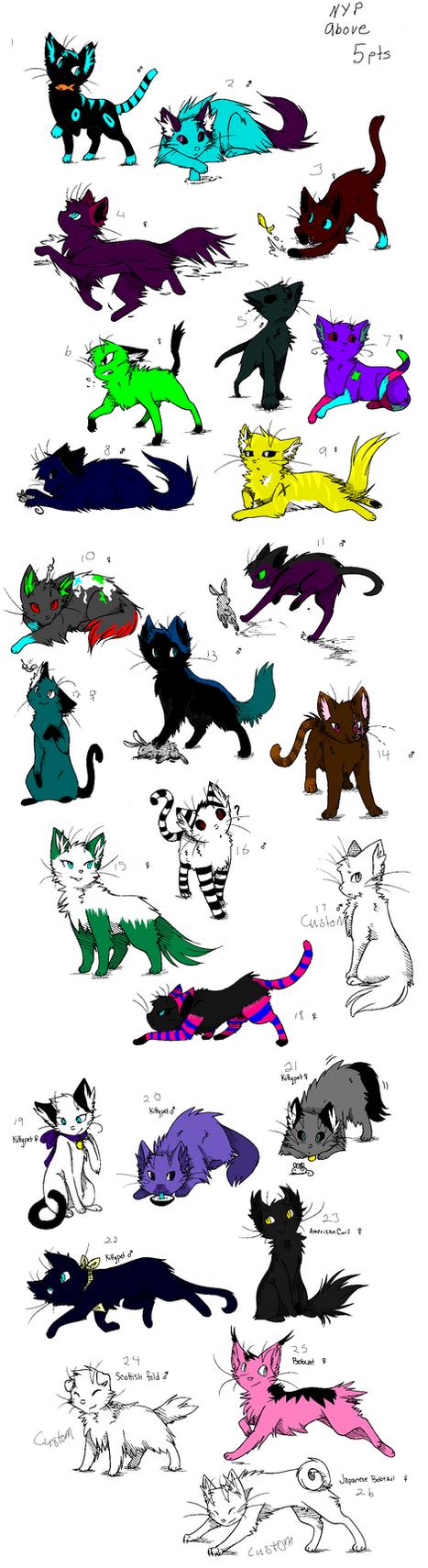 26 Cat Adopts Nyp  open by InsanityArtist95