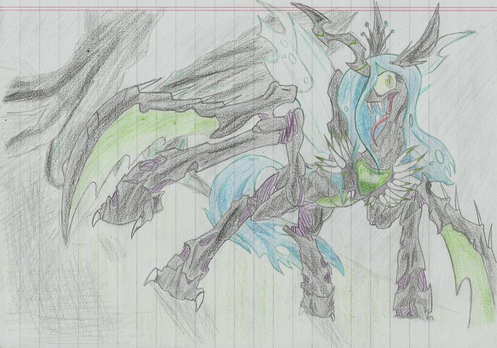 Chrysalis Voidreaver by LucasTheBlackFox
