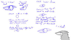 Small tutorial on how to draw Sergal head